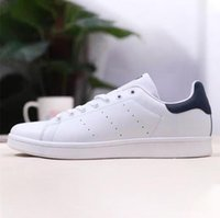 2020 Mode Chaussures Hommes Casual Femmes Smith Stan Femmes Blanc Noir Flats Sneakers Designer 36-44