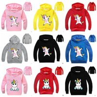 Vêtements de bébé Unicorn Hoodies Garçons Casual Cartoon Manteau Mode Film Vestes À Manches Longues Sweat À Capuche Outwear Sweat-Shirts Jumper Pull Tops B4812