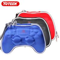Custodia Yoteen Hard EVA per controller PS4 Dualshock Custodia da viaggio a 4 borse Custodia protettiva Tasca antiurto a mano protettiva