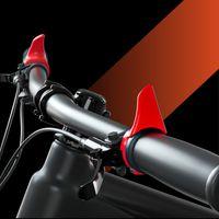 fibra de vidro bicicleta Bar Ends Policarbonato + Bicicleta Guiador Barend Barends MTB Mountain Bike Bar Termina peças da bicicleta