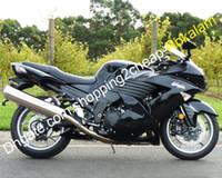 ZZ-R1400黒フェアリングキット川崎忍者ZX14R ZX-14R ZX 14R 2007 2007 2007 2007 20002011 Bodyworkオートバイセット(射出成形)