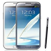 Восстановленные оригинальные Samsung Galaxy Note 2 N7100 N7105 3G 4G LTE 5,5-дюймовый четырехъядерный 2 ГБ ОЗУ 16 ГБ ROM разблокирован телефон DHL 10 шт.