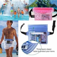 Waterproof Waist Pouch Bag Dry Underwater Case Cover Swimmin...