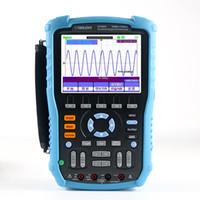 3en1 portátil 60M 100M osciloscopio digital multímetro registrador 12 idiomas nacionales