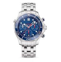 Omeg Seamaste Marque qualité Montre Femme Mode horloge Casual Big Man Montres de luxe à quartz dame claassic un gros montre