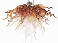 Tasarım lambaları mini soluk bakır oturma yemek çalışma odası kolye avizeler ilham 100% el üfleme cam avize ve kolye lamba