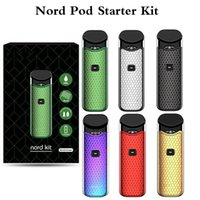 New Nord Starter Kits Built- in 1100mAh Battery 3ml Mesh 0. 6o...