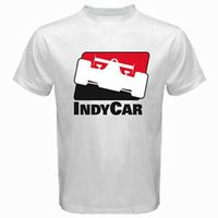 INDYCAR Indy Racing League Logo Indianapolis Mens White T Sh...