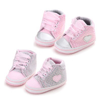 Classic Casual Baby Shoes Toddler Newborn Polka Dots Baby Gi...