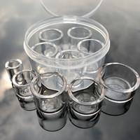 Съемная кварцевая вставка плоская верхняя нижняя термальная сковорода кварцевая Фат чаша вставка падение для плоских верхних кварцевых ногтей