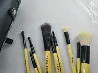 أدوات ماكياج بوبى واحد استحى مجموعة ماكياج مجموعات فرشاة الصوف رئيس فرشاة 9PCS خشبية مقبض اسطوانة / ماكياج مجموعة دي إتش إل الشحن المجاني