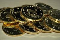 Der Beispielauftrag, freies Verschiffen 1pcs / lot, 1967-2016 Südafrika Krügerrand-Münzen, 1 Unze überzogene 24K Goldmünze, Geschenk-Metall Arts And Crafts
