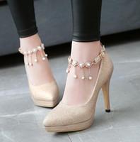 43 sim yapay elmas düğün ayakkabıları büyüklüğü 32 gelinlik altın topuk tasarımcı gümüş mavisi lila moda lüks tasarımcı kadınlar ayakkabı pompaları