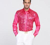 높은 품질 스팽틴 성능 공 호스트 코 튼 신랑 긴 소매 셔츠 최고의 남자 셔츠 긴 소매 셔츠 신랑 액세서리 07