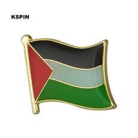 Drapeau Palestine Drapeau Pin Flag Badge Épinglettes Badges Broche KS0027