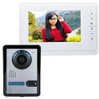 SY819FA11 7 Zoll HD Türklingel Kamera Video Intercom Türsprechanlage mit Monitor
