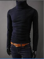 Wholesale- 2014 NEW Men Winter WarmTurtleneck Pullover Therma...