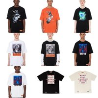 19SS HP Fashion T-shirt HERON PRESTON Manches Courtes High Street Cotton Oversize T-shirt Unisexe Homme Femme 15 Styles T-Shirt S ~ XL HFBYTX276