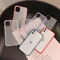 Suitable for iPhone11 mobile phone case transparent matte Ap...