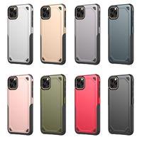 2 in 1 cassa dell'armatura ibrida robusta antiurto casi copertura per l'iPhone 11 Pro Max 8 7 6 6S Inoltre Samsung S8 S9 S10 Inoltre S10E Nota 9 8 S7