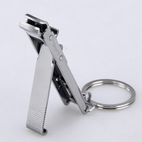 Stainless Steel Ultra- thin Foldable Hand Toe Nail Clippers C...