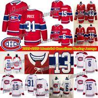 Montréal Canadiens Jersey 6 Shea Weber 31 Carey Prezzo 15 Jesperi Kotkaniemi 11 Brendan Gallagher 13 Max Domi Hockey Jerseys