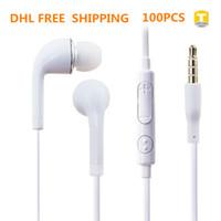 무료 배송 3.5mm 귀 싹이 이어폰 헤드폰 마이크와 최대 볼륨