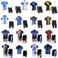 Dev Takım Bisiklet Kısa Kollu Jersey Şort Setleri Yüksek Kaliteli Bisiklet Jersey Nefes Bisiklet Giyim Sportwear D13006