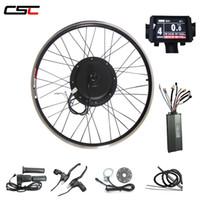 48V 1000W kit vélo électrique 20 '' - 29 '' e 700C vélo Conversion arrière avant couleur kit ebike roue moteur KT écran LCD 8 avec port USB