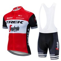 Pro Cycling Jersey Set 2019 Zipper 3 Rear Pocket Red Cycling...