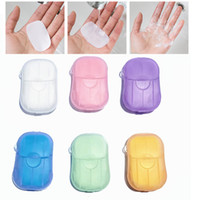 20PCS box Disposable Outdoor Anti dust Mini Soap, Hand Washi...