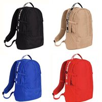 Sup Backpack School bag outdoor bookbag 18ss Hip Hop Canvas ...