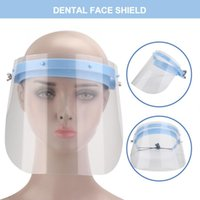 Face Shield Waterproof Transparent Antifog Protective Face M...