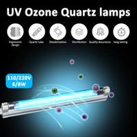 6 Вт 8 Вт УФ светодиодная лампа бактерицидный стерилизатор 110 в 220 В ультрафиолетовый кварцевый линейный свет Озон Generato дезинфекция дезодорант бар трубка