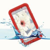 삼성 Galaxy Note 5 S6 Edge Plus 용 방수 내 충격 IP68 헤비 듀티 폰 케이스 커버