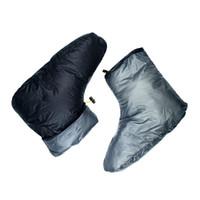 للجنسين الأبيض أسفل النعال أحذية البينيتكات الأحذية الأحذية التخييم النوم اكسسوارات حقيبة
