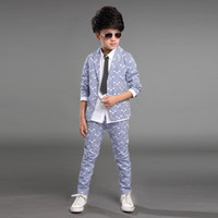 formal suits for teenagers coat+ pants clothing set 2 pieces ...