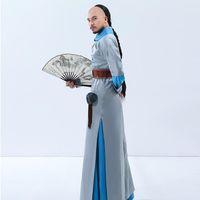 청나라 왕자 의류 남성 영화 텔레비전 성능 무대 착용 드래곤 로브 중국어 고대의 옷을 코스프레 의상