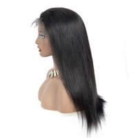 Lace Front Human Hair Wigs 360 Straight Lace Front Wig With Baby Full Human Hair Wigs