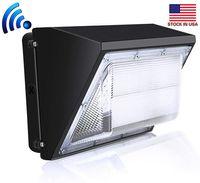 Confezione parete del LED Luce esterna 60W 80W 100W a muro Confezione industriale lampada Daylights 5000K AC90-277V CRI75 IP65 DLC ETL Listed