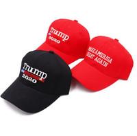 قبعات مصمم قبعات الرجال دونالد ترامب 2020 قبعات البيسبول تقديم A0023 أمريكا العظمى مرة أخرى قبعة التطريز الرياضية الكرة هات السفر في الهواء الطلق شاطئ