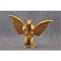 Godzilla Üç başlı ejderha Kral Anime Filmler Ejderha Kral Doll PVC Koleksiyon Model Oyuncak