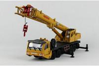KDW сплав грузовик модель игрушки, краны, грузоподъемная техника, большой размер, высокая моделирования, на день рождения ребенка подарки, Коллекционирование, 625011