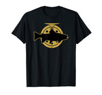 Brook Trout Fly Fishing Shirt with Fly Reel Fisherman Gift T