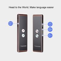 T8 휴대용 WiFi 음성 번역기 양방향 실시간 40 다국어 번역 여행 비즈니스 번역가