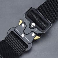 التكتيكية الحزام الجديد للجيش النايلون حزام الرجال رخوة العسكرية SWAT أحزمة القتال توقف عن التدخين بقاء الطوارئ حزام التكتيكية جير
