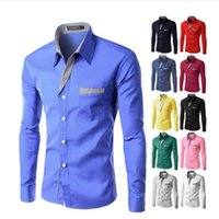 4XL Plus Size Brand- clothing Cotton Mens Clothing Solid Soft...
