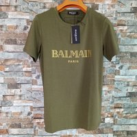 Balmain Mens Stylist T Shirts Fashion Men Women Stylist Shor...
