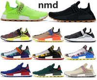 2019 Günstige NMD HUMAN RACE Pharrell Williams Männer Frauen Know Seele unendliche Arten Solar-Pack-Mutter Designer Fashion Sportschuhe 36-47