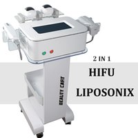 2019 New Arrival Liposonix Machine HIFU Liposonix Face Podnoszenie Ultrasonograficzne System Ultrasound Skóra Dokręcanie Tłuszcz Zmniejsz sprzęt odchudzający